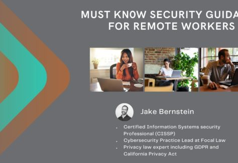Must Know Security Guidance For Remote Workers