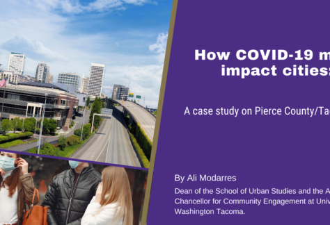 How COVID 19 might impact cities: A case study on Pierce County/Tacoma, WA