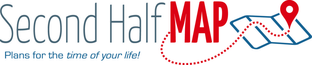 Second Half Map Logo - with tagline